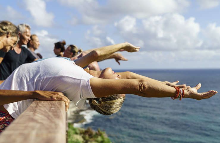 Yoga in St Barth